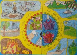 Tổng hợp ý tưởng vẽ tranh đề tài bảo vệ môi trường