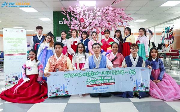 cao đẳng tiếng Hàn