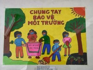Những ý tưởng vẽ tranh đề tài bảo vệ môi trường