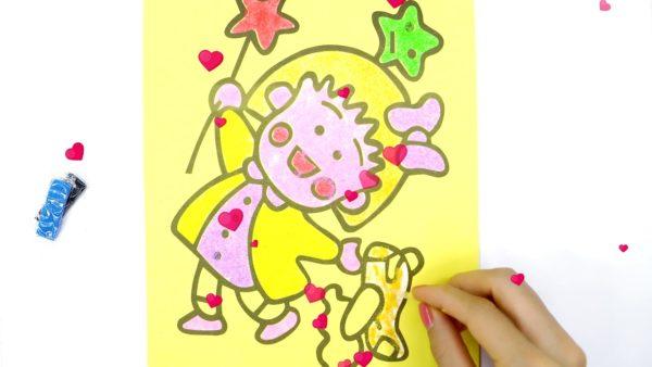 tranh tô màu cho bé gái 7 tuổi