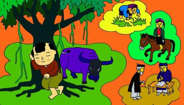 vẽ tranh minh họa truyện cổ tích
