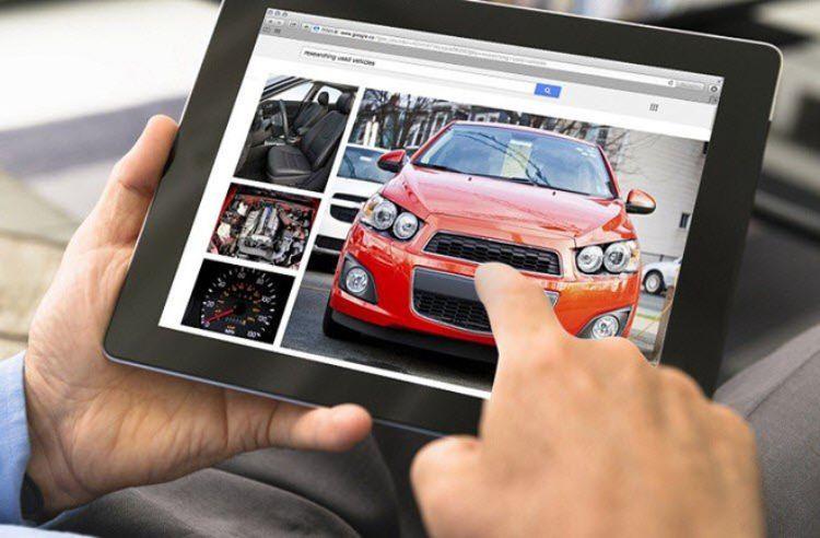 mua xe ô tô trực tuyến